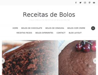 receitas-de-bolos.pt screenshot