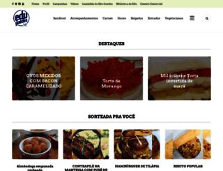 receitas.eduguedes.com.br screenshot