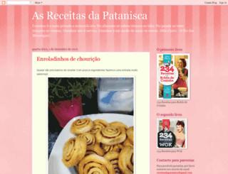 receitasdapatanisca.blogspot.com screenshot