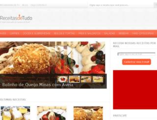 receitasdetudo.com.br screenshot