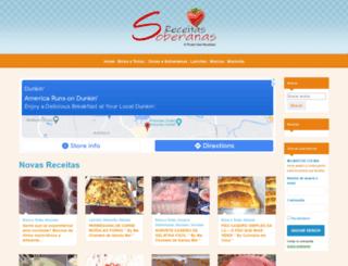 receitasoberana.com.br screenshot