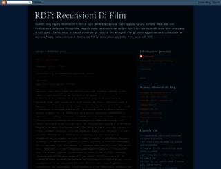 recensionidifilm.blogspot.com screenshot