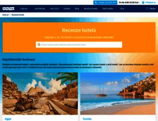 recenze-hotelu.invia.cz screenshot