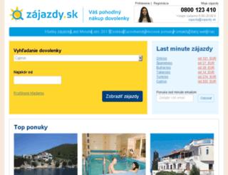 recenzie.zajazdy.sk screenshot