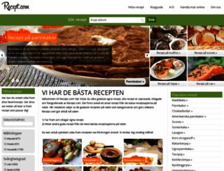 recept.com screenshot