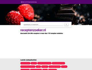 receptenzoeker.nl screenshot