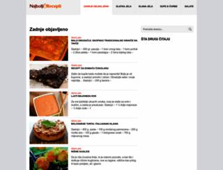 recepti-24.com screenshot