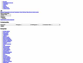receptuknyga.lt screenshot