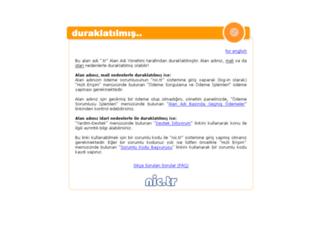 recepyilmaz.web.tr screenshot