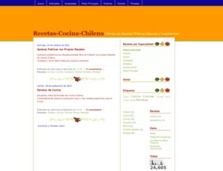 recetas-cocina-chilena.blogspot.com screenshot