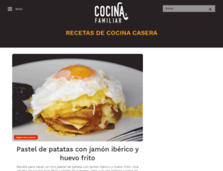 recetascaserasfaciles.cocina-familiar.com screenshot