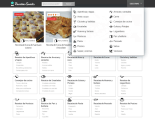 recetasgratis.net screenshot
