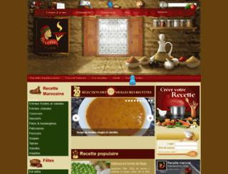 recettemarocaine.org screenshot