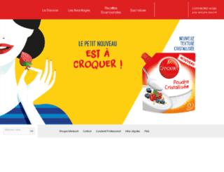 recettes.canderel.fr screenshot
