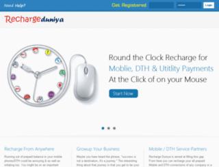 rechargeduniya.co screenshot