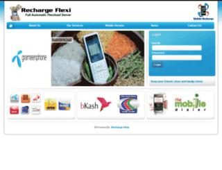rechargeflexi.net screenshot