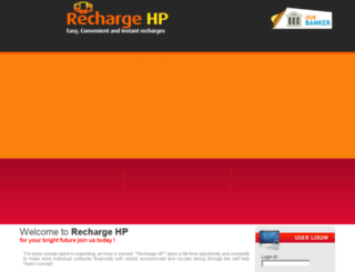 rechargehp.co.in screenshot