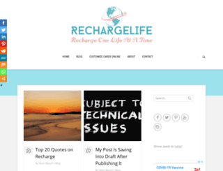 rechargelife.org screenshot