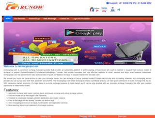 rechargeraja.com screenshot