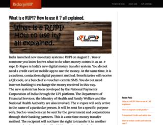 rechargevoip.com screenshot