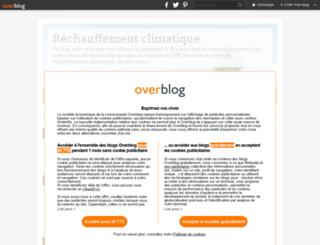 rechauffement-climatique.tpe.over-blog.com screenshot