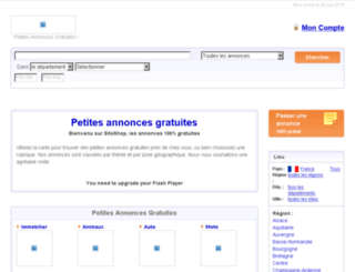 recherche-emploi.sitoshop.fr screenshot