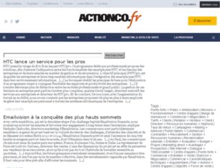 recherche.actionco.fr screenshot