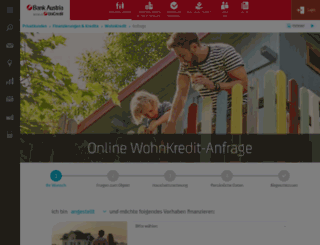 rechner.bankaustria.at screenshot