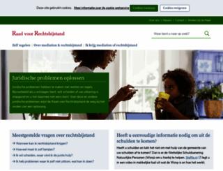 rechtsbijstand.nl screenshot