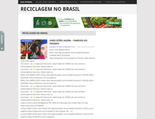 reciclagemnobrasil.com screenshot