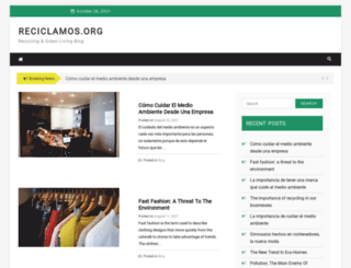 reciclamos.org screenshot