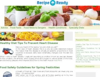 recipe-ready.com screenshot