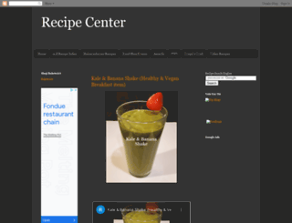 recipecenterforall.blogspot.com screenshot