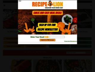 recipechatter.com screenshot