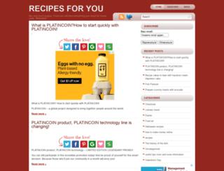 recipecooking.biz screenshot