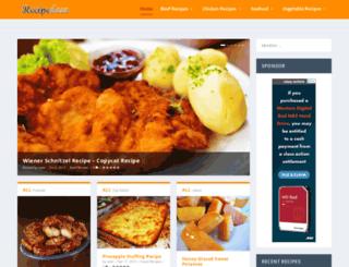 recipedose.com screenshot