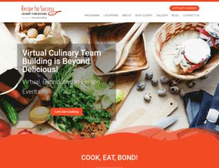 recipeforsuccess.com screenshot