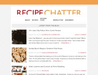 recipelionblog.com screenshot