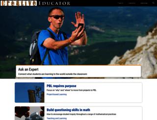 recipes.tech4learning.com screenshot