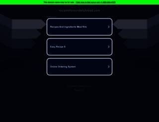 recipesforourdailybread.com screenshot
