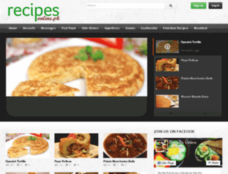 recipesonline.pk screenshot