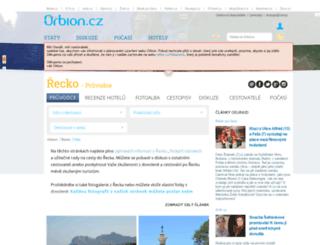 recko.orbion.cz screenshot
