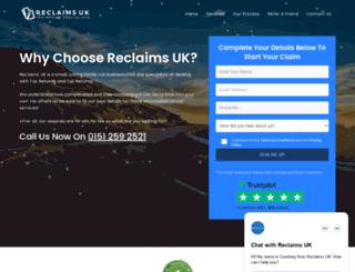 reclaimsuk.co.uk screenshot