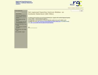 recmzw.nl screenshot