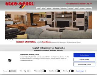 Reco Moebel.de Screenshot