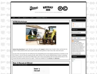 recoat.blogspot.com screenshot