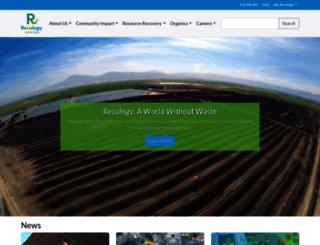 recologysanmateocounty.com screenshot