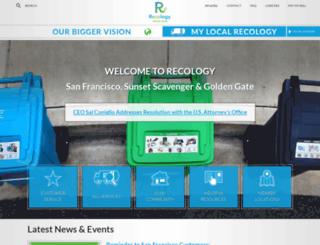 recologysf.com screenshot