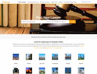 recommendations.findlaw.com screenshot