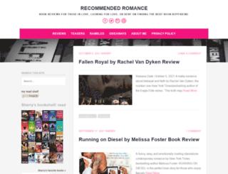 recommendedromance.com screenshot